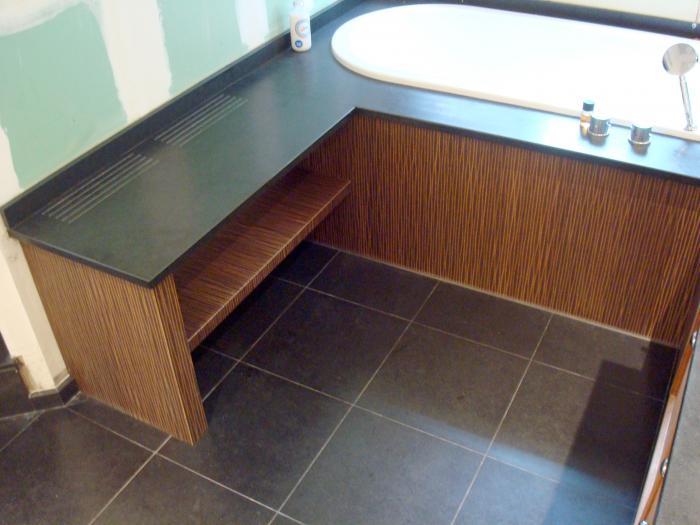 Salle de bain meubles sur mesure am nagement de salle de for Porte meuble salle de bain sur mesure