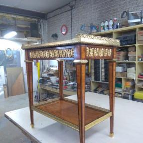 Restauration d'un petit bureau ATELIRE SAINTE ANNE Armentieres