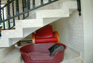 Aménagement sous escalier - Avant