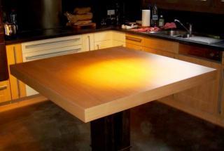 Création d'une table de cuisine
