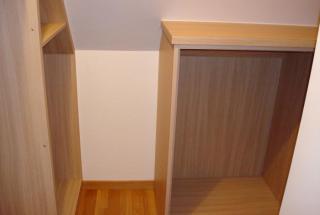 meuble et dressing en sous pente - Détails