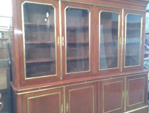 Restauration d'une bibliothéque huit portes ATELIER SAINTE ANNE Armentieres